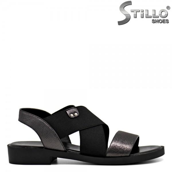 Sandale dama cu elastic - 30821