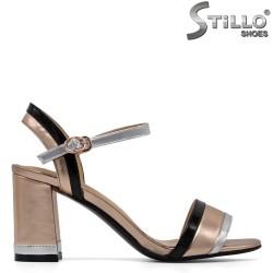 Sandale dama cu toc inalt - 30826