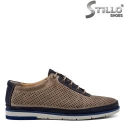 Pantofi barbatesti din piele naturala - 30828