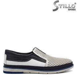 Pantofi barbatesti piele naturala - 30834