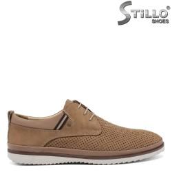 Pantofi barbatesti piele naturala - 30835
