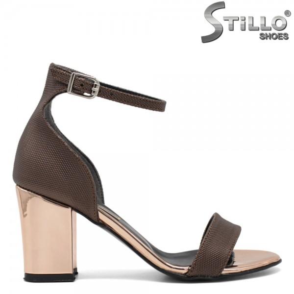 Sandale dama cu toc inalt - 30837