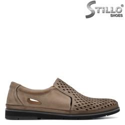 Pantofi barbatesti din piele naturala - 30845