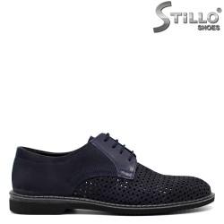 Pantofi barbatesti velur natural - 30848