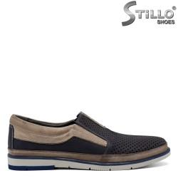 Pantofi barbatesti din piele naturala - 30854