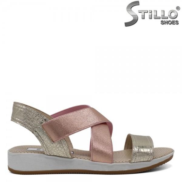 Sandale dama piele cu talpa dreapta - 30895