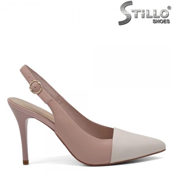 Pantofi dama piele naturala - 30909