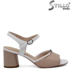 Sandale dama din piele naturala - 30922