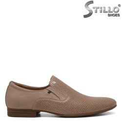 Pantofi barbatesti din piele naturala - 30937