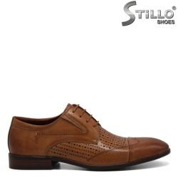 Pantofi barbatesti piele naturala - 30939