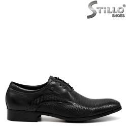 Pantofi barbatesti din piele naturala - 30942