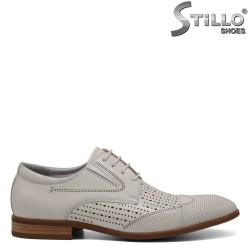Pantofi barbatesti piele naturala - 30944