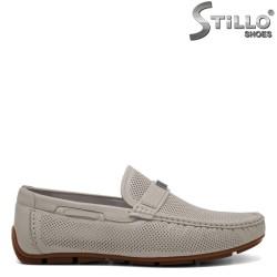 Pantofi barbatesti din piele naturala - 30946