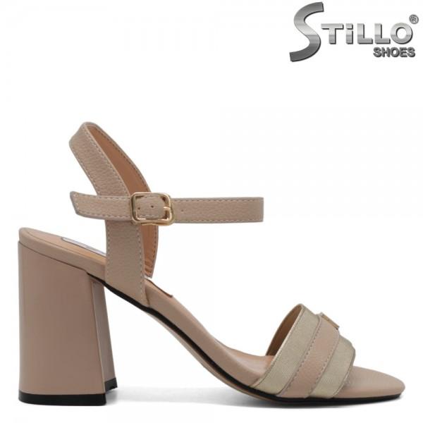 Sandale dama cu toc inalt - 30955