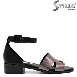 Sandale dama cu toc jos - 30958