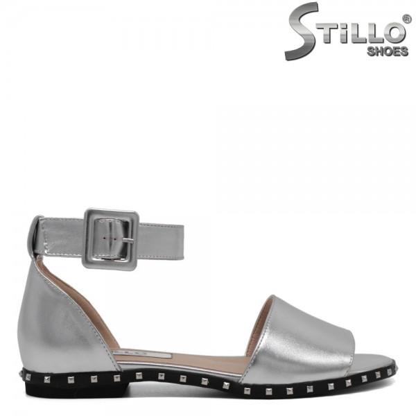 Sandale dama argintii - 30968
