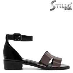 Sandale dama cu toc mic - 30969