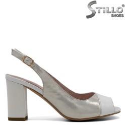 Sandale argintii marimi mici nr.33 - 30983