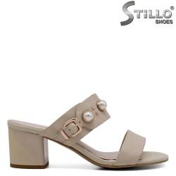 Papuci piele naturala - 30987