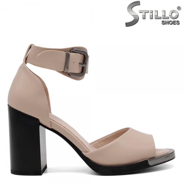 Sandale cu toc inalt - 30994