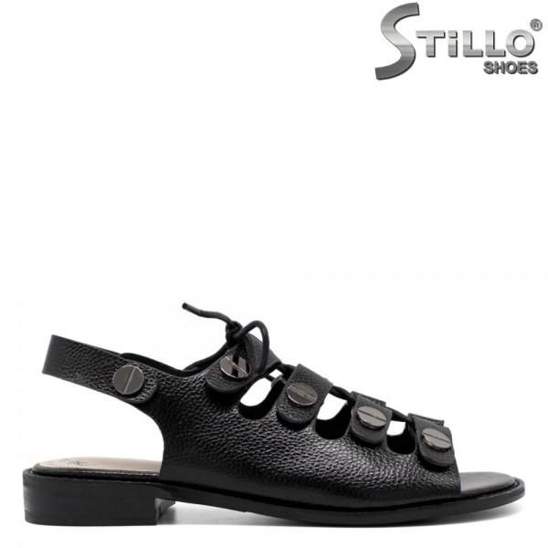 Sandale dama cu toc mic - 31014