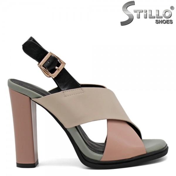 Sandale dama cu toc inalt - 31015