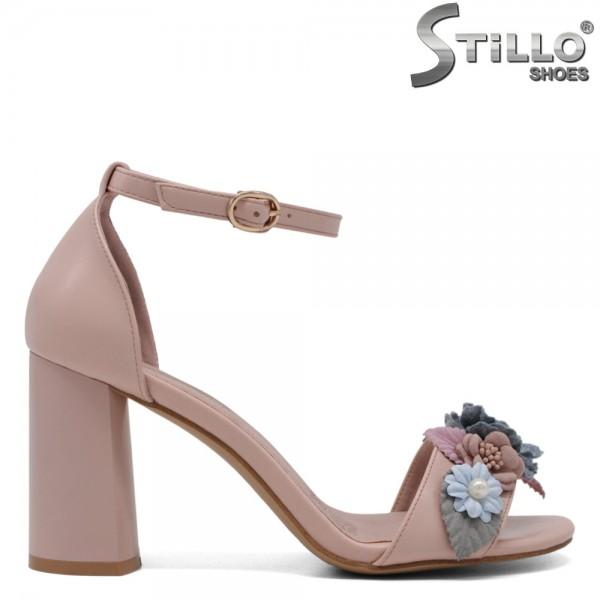 Sandale cu toc inalt - 31016
