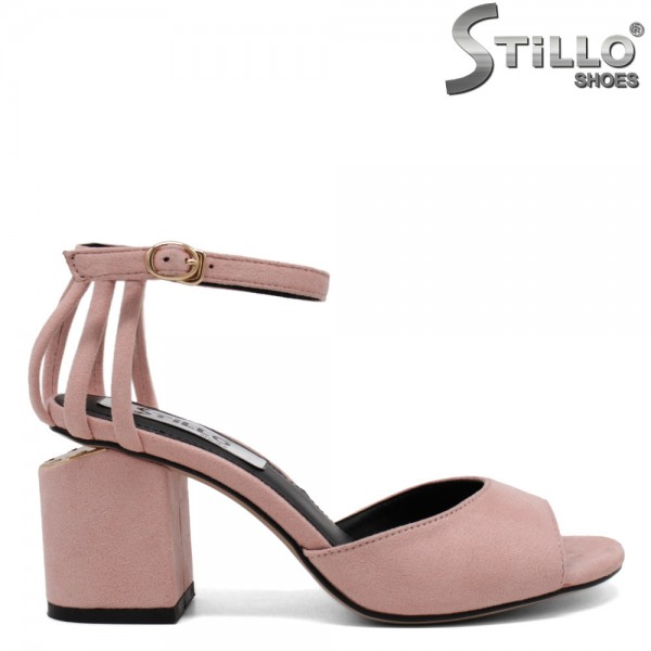 Sandale dama toc inalt - 31028