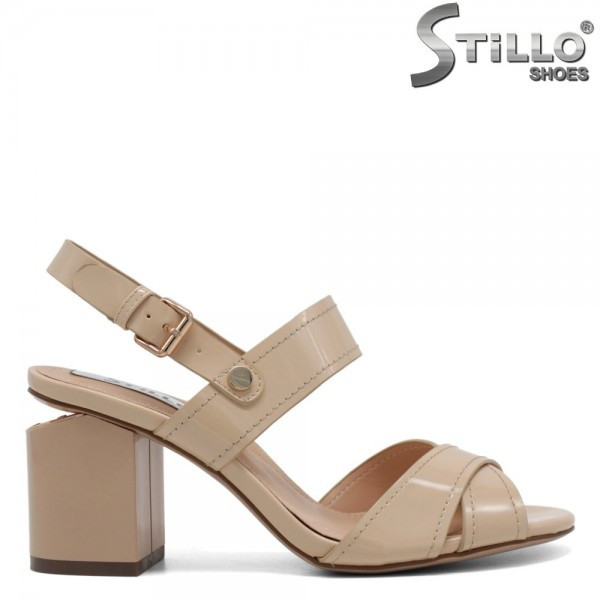 Sandale dama din lac - 31029