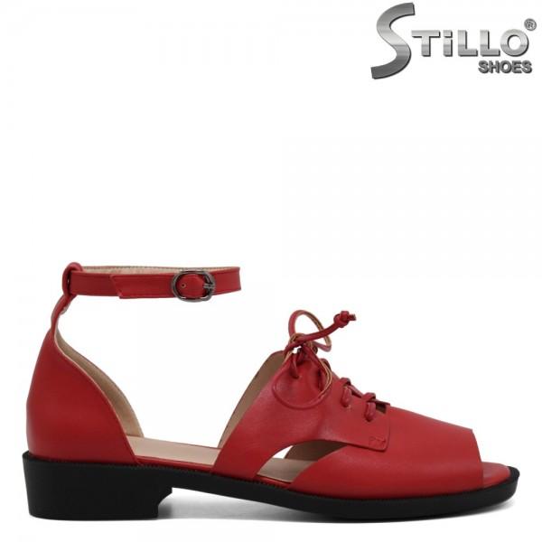 Sandale dama cu sireturi - 31054