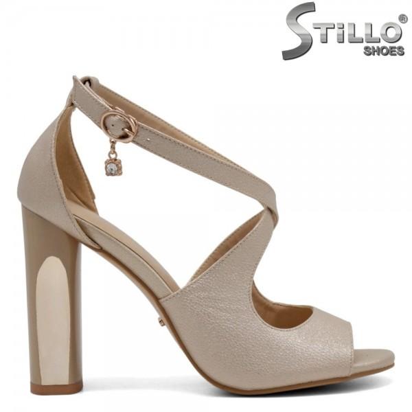 Sandale dama toc inalt - 31058