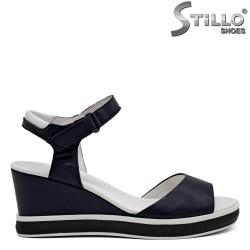 Sandale dama piele pe platforma - 31059