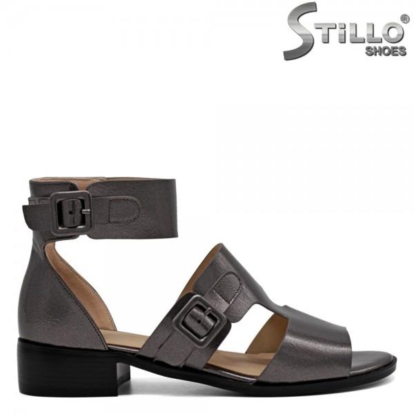 Sandale de culoare bronz - 31062