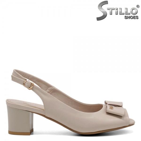Sandale dama cu funda - 31067