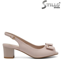Sandale roz cu funda  - 31070