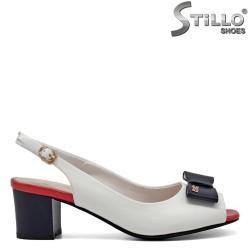 Sandale colorate cu funda si toc - 31072