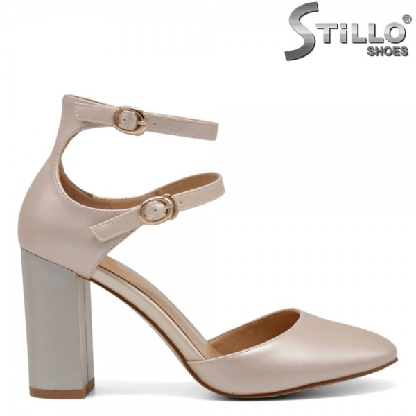 Pantofi dama aurii - 31076