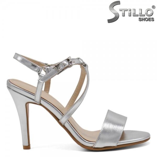 Sandale argintii marimi mici nr 34 - 31079