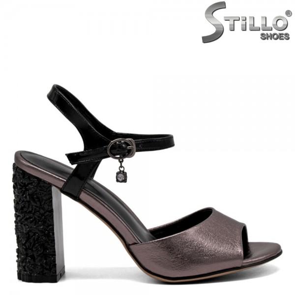 Sandale elegante din piele ecologica - 31081