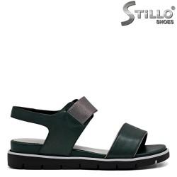 Sandale dama verde piele naturala - 31092
