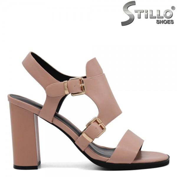 Sandale dama cu toc inalt - 31098