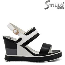 Sandale dama pe platforma - 31101