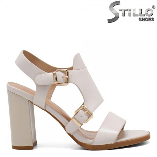 Sandale dama cu toc inalt - 31102