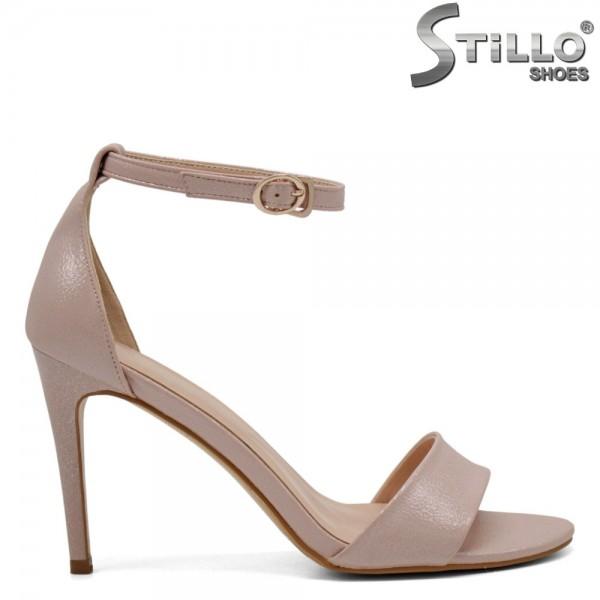 Sandale dama cu toc subtire - 31104