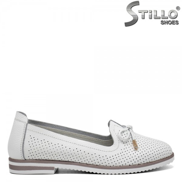 Pantofi dama cu funda decorata - 31107