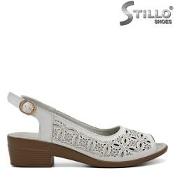 Sandale dama albe - 31118