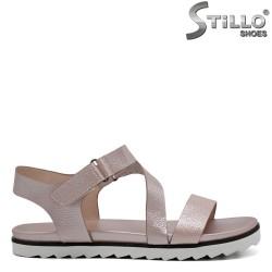 Sandale dama roz sidef - 31125