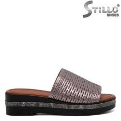 Papuci dama cu pietricele - 31130