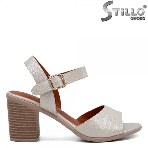 Sandale dama argintii - 31131