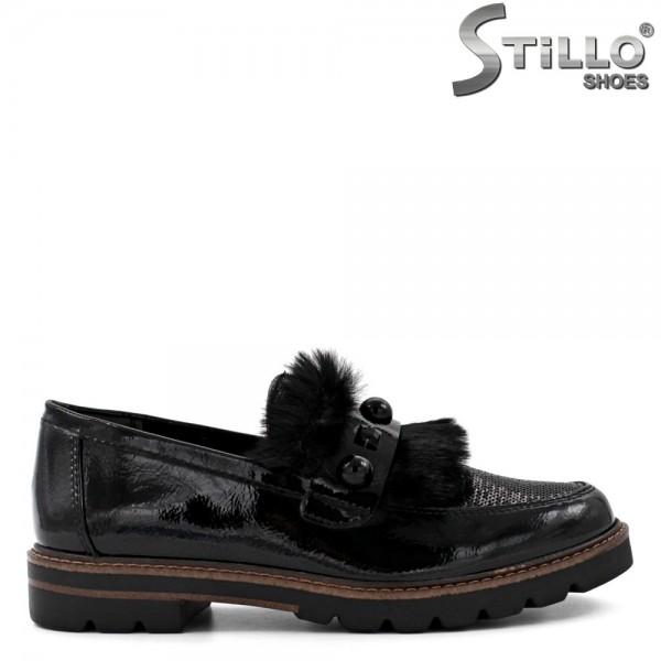 Pantofi de dama din lac - 31155